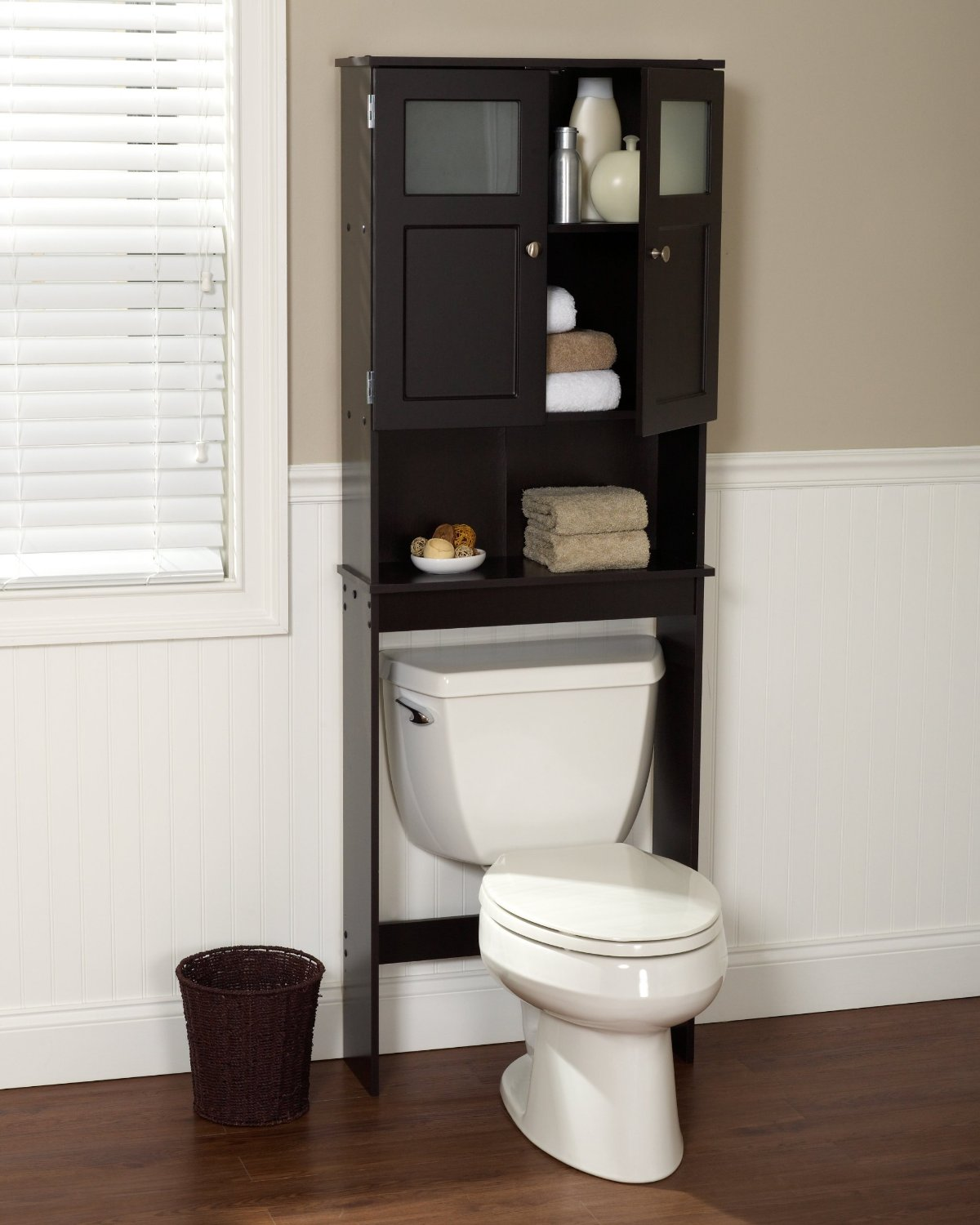 Bathroom Etagere the best over the toilet storage options 2017 | toiletops