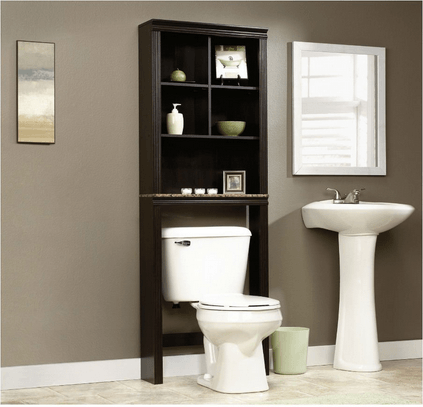 What about toilet storage in chrome or brass? ...