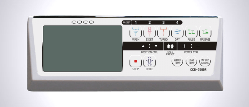 coco bidet 9500r review remote