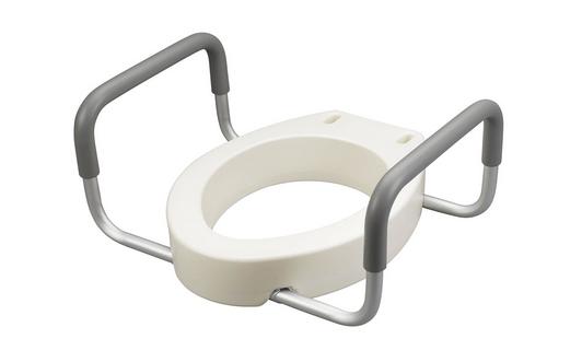 toilet accessories for elderly toilet riser handles