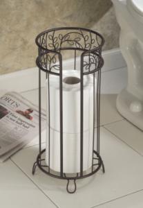 interdesign-twigz-toilet-reserve extra toilet paper holder ideas