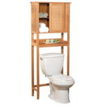 toilet accessories bamboo over the toilet shelf etagere