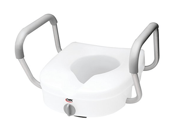raised toilet seats with arms 123423