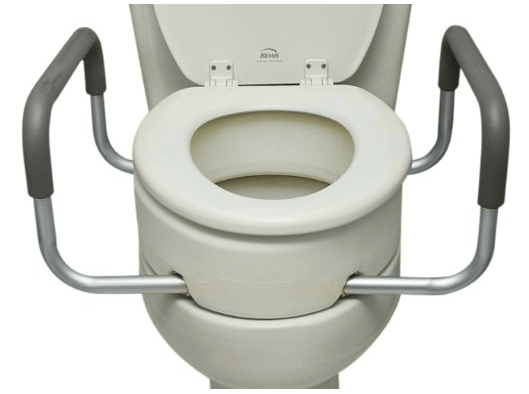 raised toilet seats with arms 2343